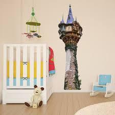 Tangled Tower Rapunzel Kids Girls Bedroom Colour Vinyl Decal Wall Sticker Gift Girls Bedroom Colors Kids Bedroom Decor Boy Girl Bedroom