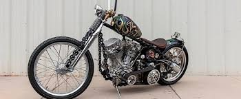 chain frame motorcycle indian larry s