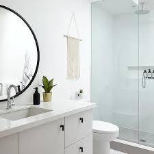 large round bath vanity mirror design ideas