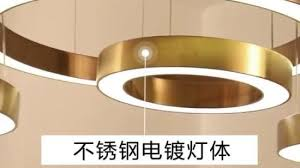 circular led pendant light