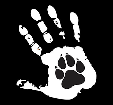 Paw Print Decal Vinyl Decalanimal Rescuecustomhand By Vandyvinyl Paw Print Decal Dog Paw Tattoo Dog Tattoos