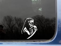 Michonne Zombie Killer 3 3 4 X 5 Die Cut Vinyl Decal Sticker For Window Truck Car Laptop Or Ipad Not Printed Buy Online In Bahrain Missing Category