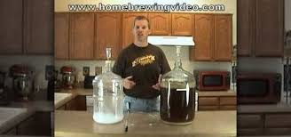 beer into a secondary fermenter