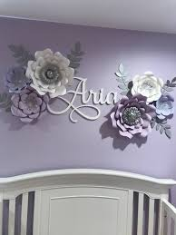Custom Name Sign Wooden Name Baby Nursery Decor Dorm Etsy Lavender Nursery Name Wall Decor Baby Girl Room