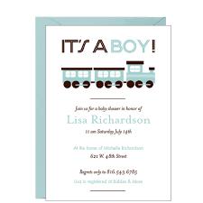 Train Baby Shower Invitation Eventos Y Ninos