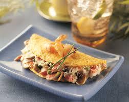 Seafood Omelette Recipe