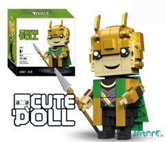 Bộ đồ chơi xếp hình Lego Loki - 14cm
