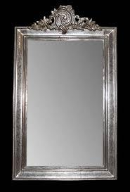 silver leaf mirror mirror