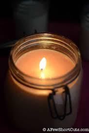 easy to make homemade jar candles a