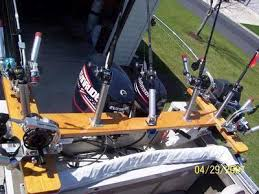 pictures of home made down rigger setup s