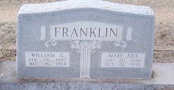Mary Ada Reed Franklin (1886-1948) - Find A Grave Memorial
