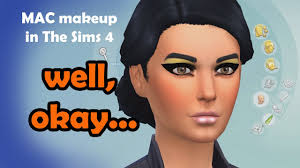 m a c makeup in the sims 4 can we
