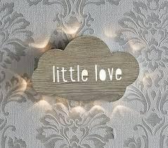 Little Love Lightup Cloud Kids Wall Decor Pottery Barn Kids