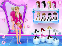 barbie salon games free the