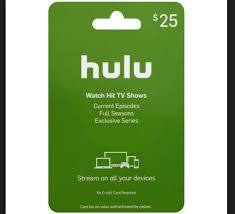 hulu gift card where can i purchase a