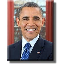 President Barack Obama Portrait Picture On Stretched Canvas Wall Art Decor Ready To Hang Walmart Com Walmart Com