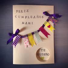 Diy Tarjeta De Cumpleanos Para Mami Hacer Tarjetas De