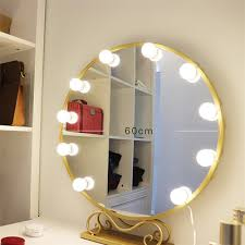 hollywood style vanity mirror lights