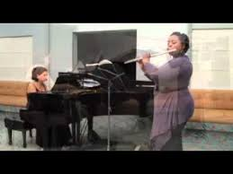 "Ent'acte ""Carmen"" Jana Stuart piano Myrtle Thomas flute - YouTube"