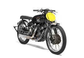 1951 vincent motorcycle sets auction