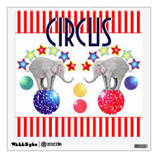 Carnival Wall Decals Stickers Zazzle