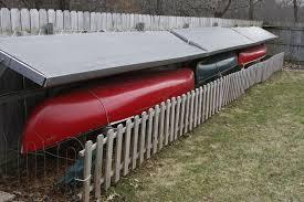 Canoe Fence