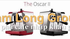 Review máy pha cà phê nhập khẩu tại Tam Long Group - YouTube