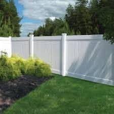 Veranda White Vinyl Linden Pro Privacy Fence Panel Kit Common 6 Ft X 8 Ft Actual 72 5 In X 94 25 In 73 White Vinyl Fence Backyard Fences Fence Design