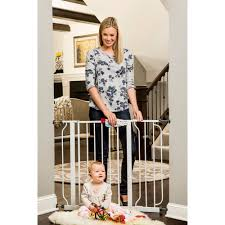 Door Gate Walmart Question On Installing Baby Gate At Top Of Stairs Sc 1 St Martine Ouellet