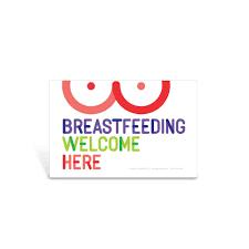 Breastfeeding Welcome Nursing Window Decal Lactation Room Decal Visualz