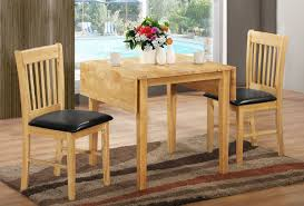 drop leaf round dining table modern