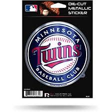 Amazon Com Minnesota Twins Baseball Vinyl Decal 8 Car Truck Window Sticker Automotive