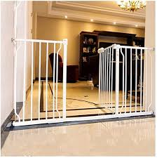 Pet Fence Indoor Anti Dog Guardrail Railing Child Safety Fence Dual Lock Self Closing Color High78cm Size 230 241 9cm Amazon Co Uk Kitchen Home