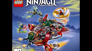 LEGO Ninjago 70735 Ronin R.E.X. Ninja Instructions Book DIY 1 - YouTube