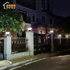 Stigma Lamp Solar Lights Garden Outdoor Waterproof Gate Square Post Wall In The Villa District Shopee Philippines