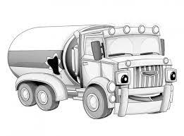 Vrachtwagen Mack Kleurplaat Printen