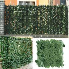 2020 1 3m Artificial Privacy Fence Screen Faux Ivy Leaf Screening Hedge For Outdoor Indoor Decor Garden Backyard Patio Decoration T200601 From Xue10 43 3 Dhgate Com