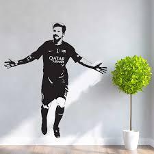 Lionel Messi Barcelona Fc Soccer Vinyl Wall Art Decal