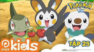 Pokémon Tập 25 - Emonga Đấu Cùng Tsutarja - Hoạt Hình Pokémon ...