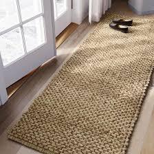 runner rug solid natural