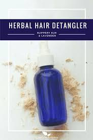 diy herbal hair detangler recipe