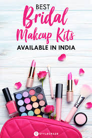 list of items in bridal makeup kit