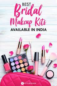 bridal makeup kit items in india