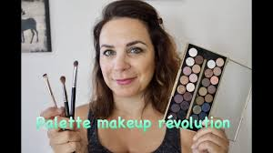 tuto makeup palette makeup révolution