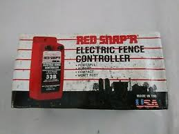 Fencing Red Snap R