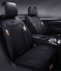 com pu leather seat cover four