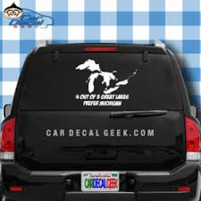 4 Out Of 5 Great Lakes Prefer Michigan Vinyl Decal Sticker