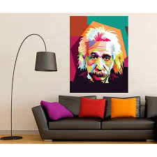 Shop Einstein Science Full Color Wall Decal Sticker K 237 Frst Size52 X80 Overstock 20872337