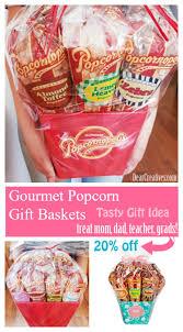 gift basket idea gourmet popcorn gift