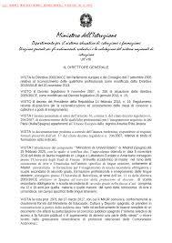 decreto dipartimentale n. 1287 del 5 ottobre 2020 - Miur